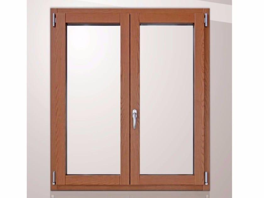Wood and aluminium top-hung window PLATINUM 900 QUADRA 90° | Top-hung window by Cos.Met.