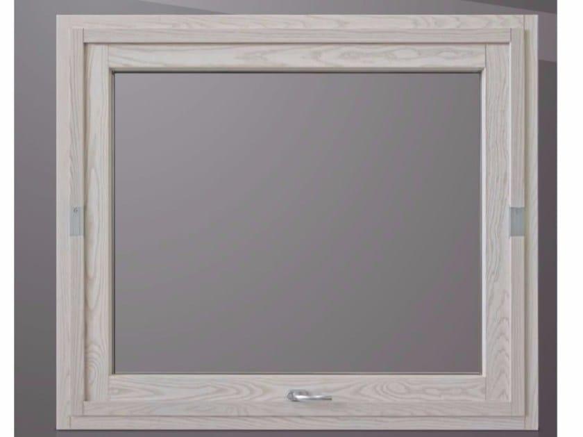 Horizontally pivoted window PLATINUM BL QUADRA 90° by Cos.Met.