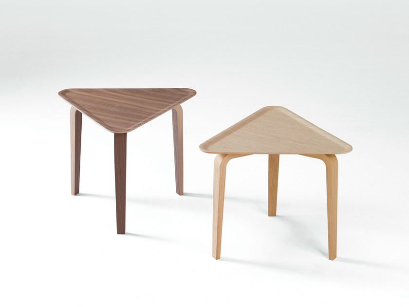 Triangular coffee table PLATONE | Coffee table by Caimi Brevetti