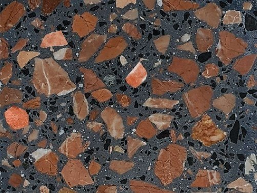 Indoor/outdoor terrazzo wall/floor tiles PLATTEN by KAROISTANBUL