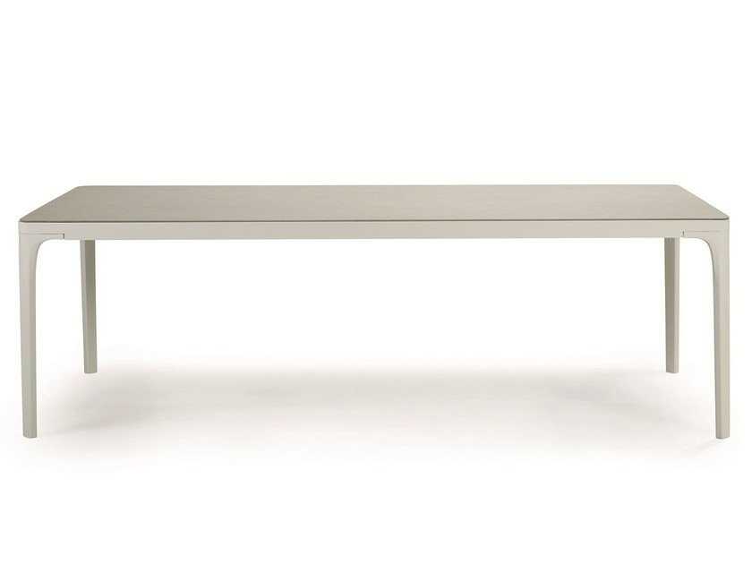 Rectangular aluminium garden table PLAY | Aluminium table by Ethimo