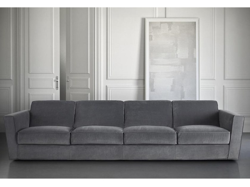 4 seater fabric sofa PLAZA | 4 seater sofa by Casamilano