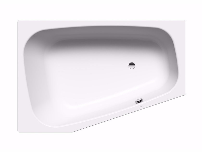 Built-in corner steel bathtub PLAZA DUO right by Kaldewei Italia