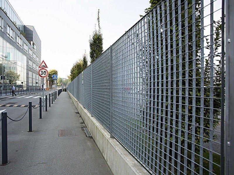 Grating fence PLEIONE® by NUOVA DEFIM