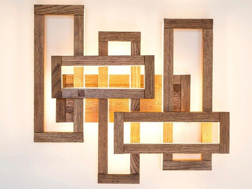Led Wooden Wall Lamp Plex By Next Level Design Studio