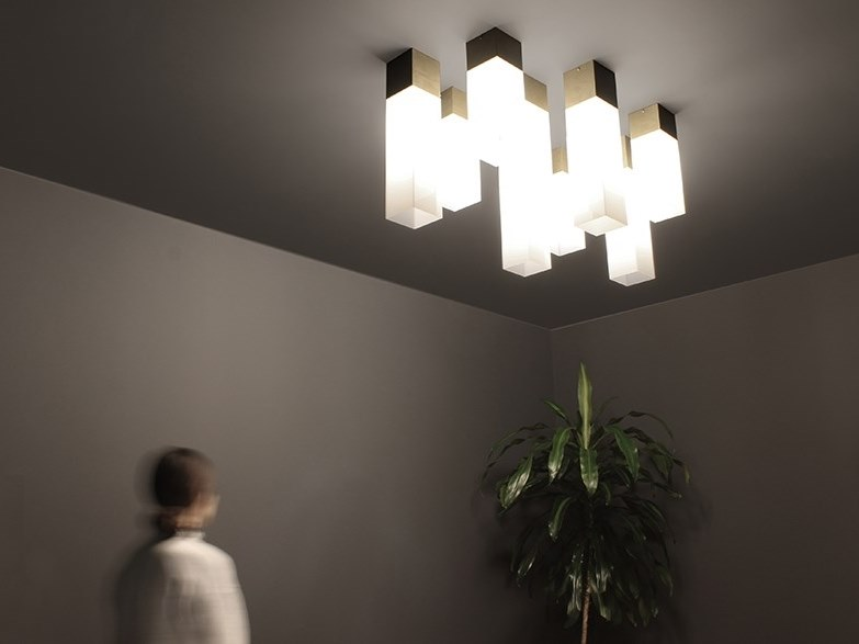 Plexiglass ceiling lamp PLEXI   Ceiling lamp by xline