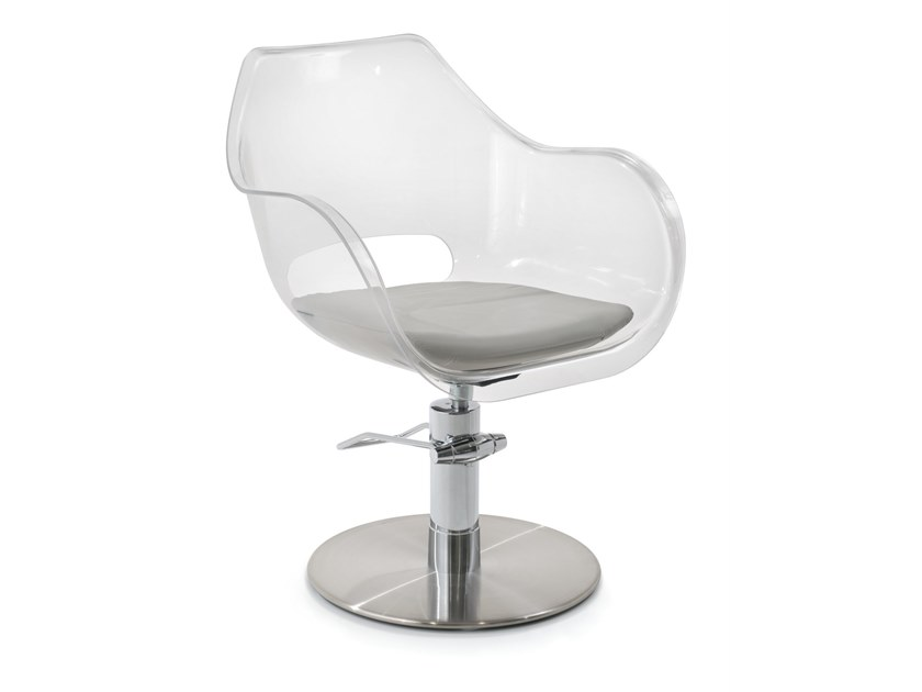 Hairdresser chair PLEXI by Maletti