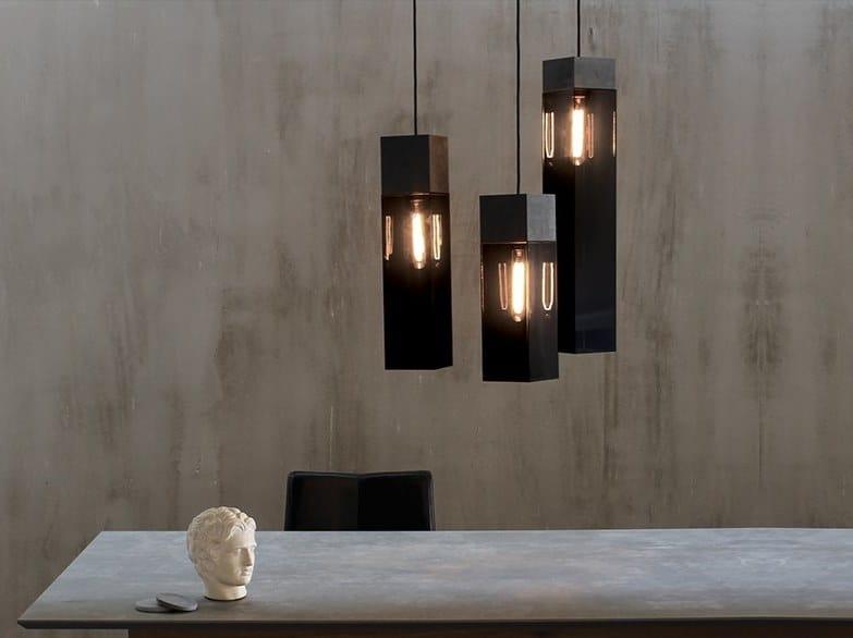 Plexiglass pendant lamp PLEXI   Pendant lamp by xline