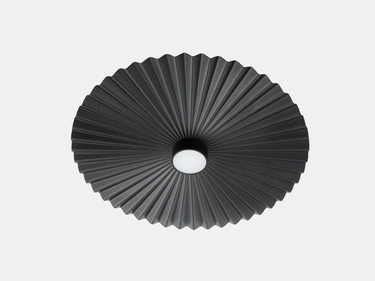 Contemporary style LED direct light aluminium ceiling light PLIE' 284.06.NN/284.07.NN by Il Fanale