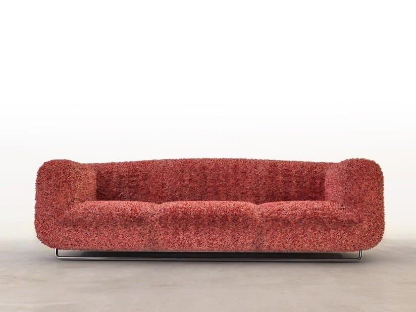 Fabric sofa PLIEES by VIDAME CREATION