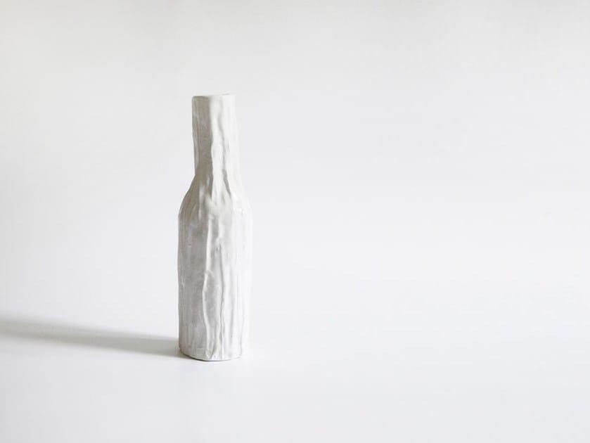 Ceramic bottle PLISS by N.O.W.  Edizioni