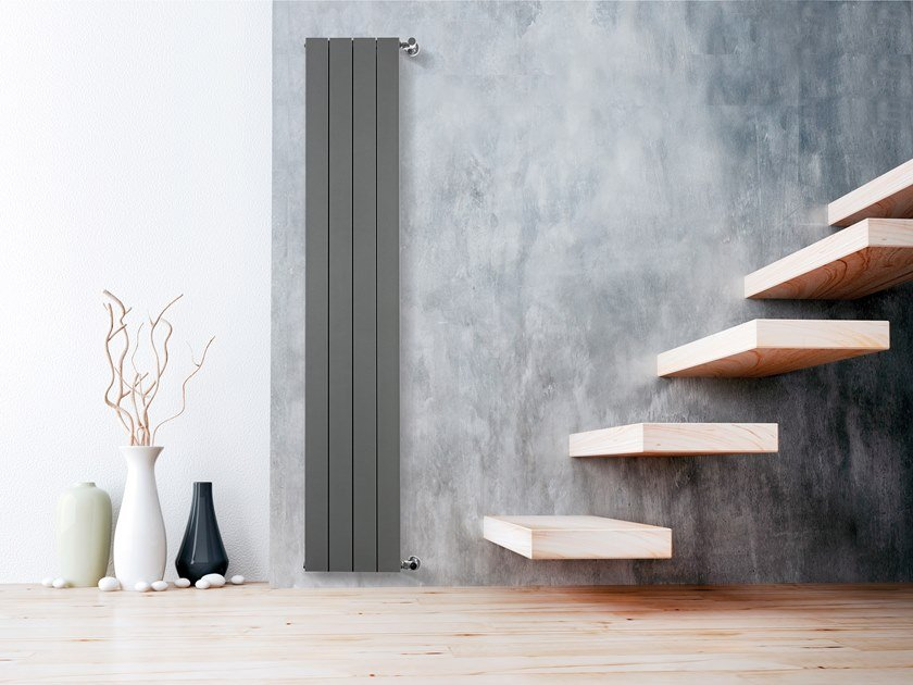 Wall-mounted radiator PLISSET by RIDEA