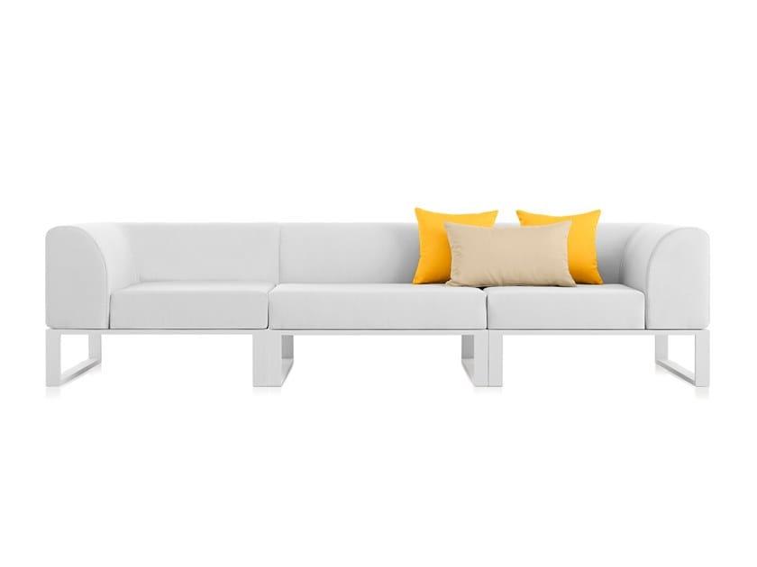 PLOID | 3 seater garden sofa