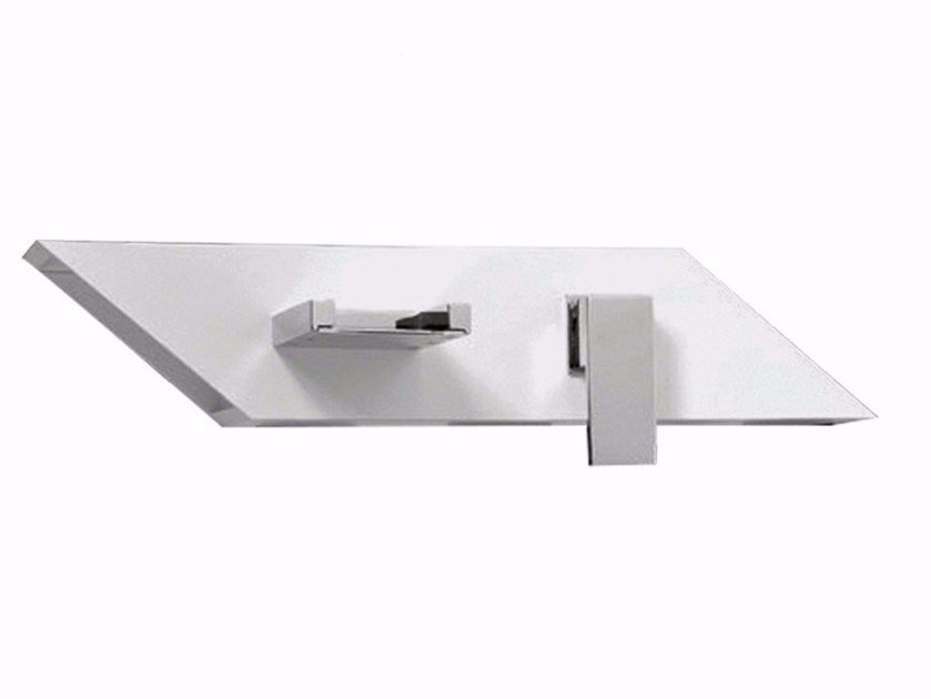 Wall-mounted washbasin mixer PLP - FPLP030B1 by Rubinetteria Giulini