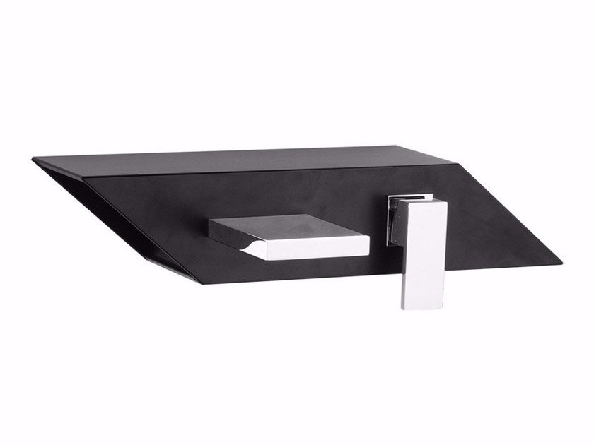 Wall-mounted washbasin mixer with aerator PLP - FPLP030B2 by Rubinetteria Giulini