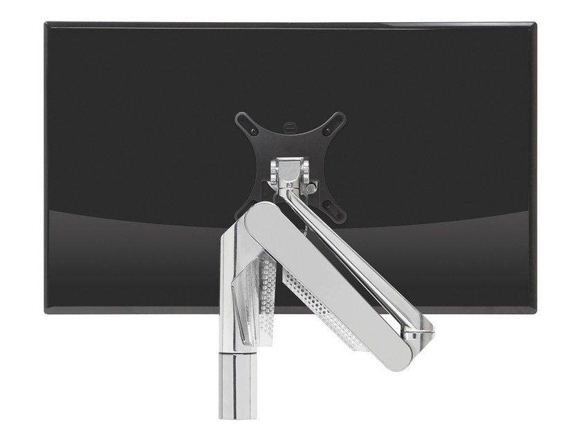 Steel stand for desk PLUG & PLAY by MANADE