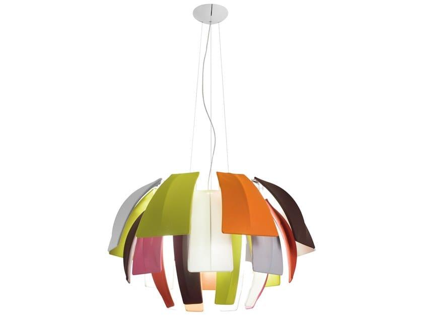 Lampada a sospensione in Trevira® CS PLUMAGE | Lampada a sospensione by AXOLIGHT