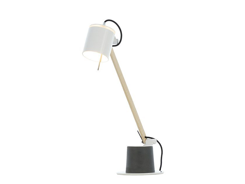 Adjustable desk lamp PLUME | Desk lamp by fambuena