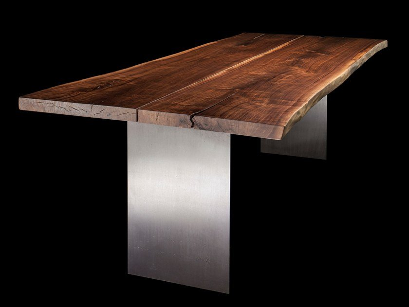 Solid wood table PLURIMA by Tabula