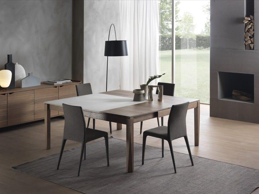 Tavolo allungabile quadrato PLURIMO | Tavolo in Cimento® - Pacini ...