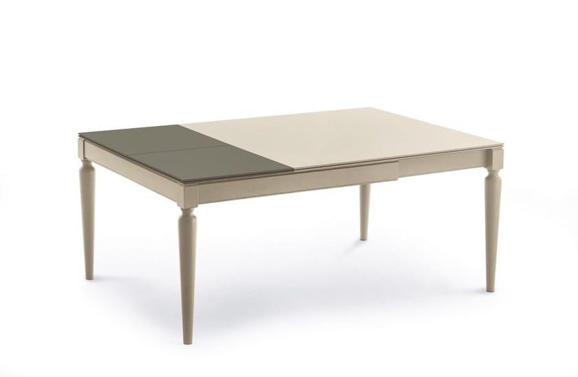 PLURIMO | Tavolo laccato By Pacini & Cappellini design Hanno Giesler