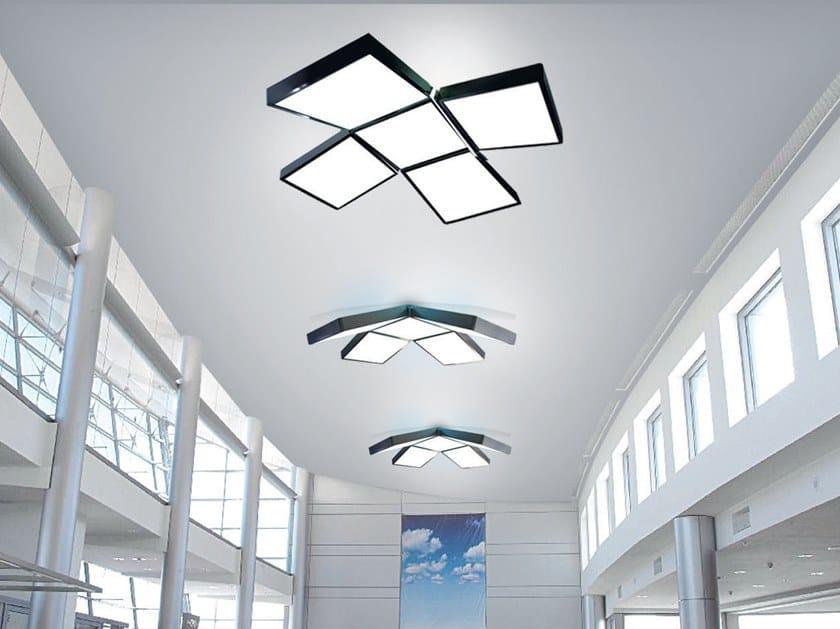 Lampada da soffitto a LED a luce diretta in PVC BARRISOL® PLUS by BARRISOL