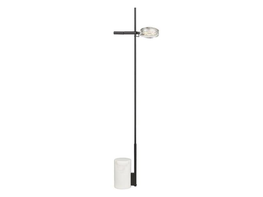LED metal floor lamp PLUS by Seyvaa
