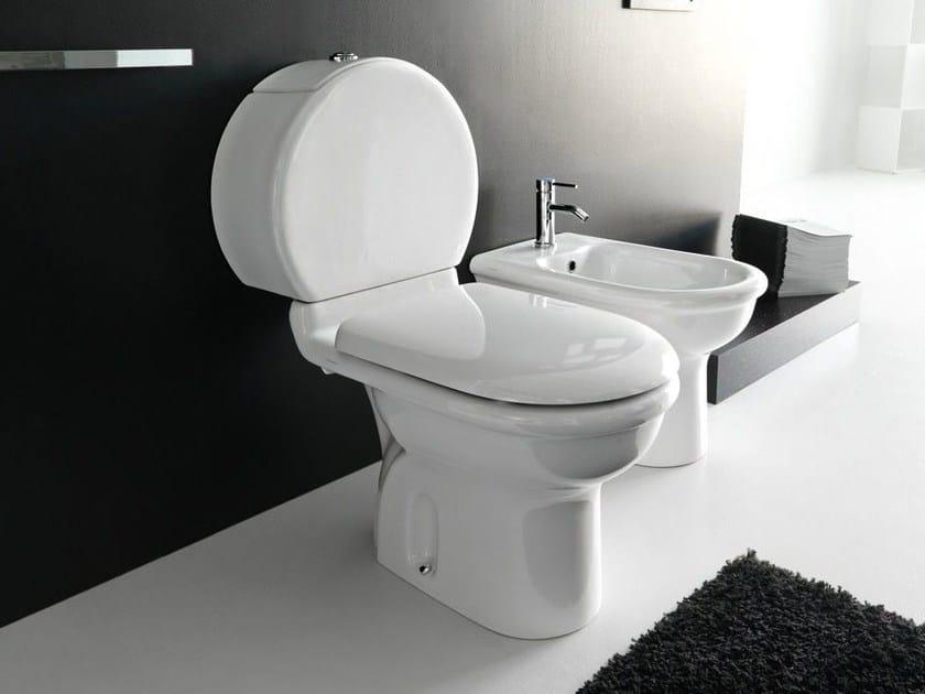 Close coupled ceramic toilet PLUVIA | Close coupled toilet by Hidra Ceramica