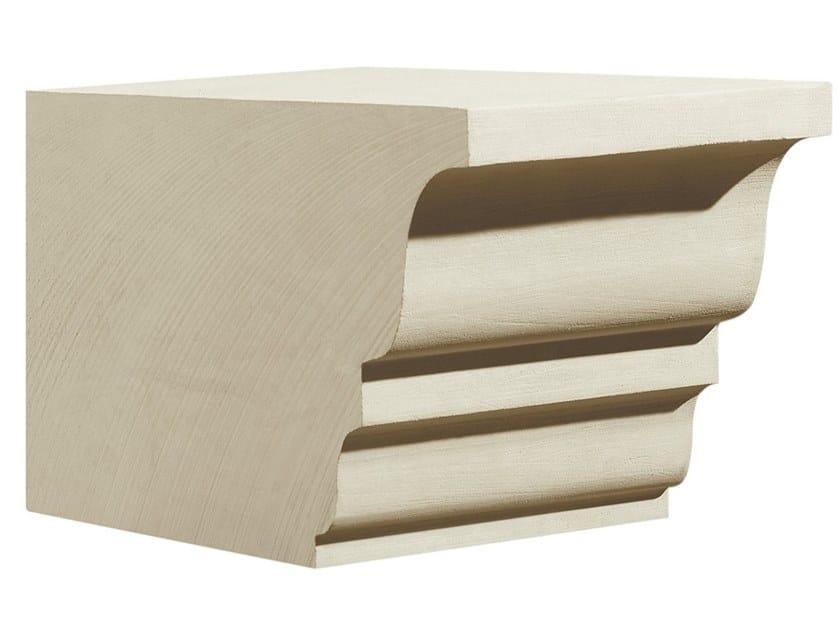 Cornice per facciata in pietra leccese PMF03 | Cornice per facciata by PIMAR