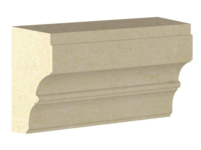 Cornice per facciata in pietra leccese PMF04 | Cornice per facciata by PIMAR