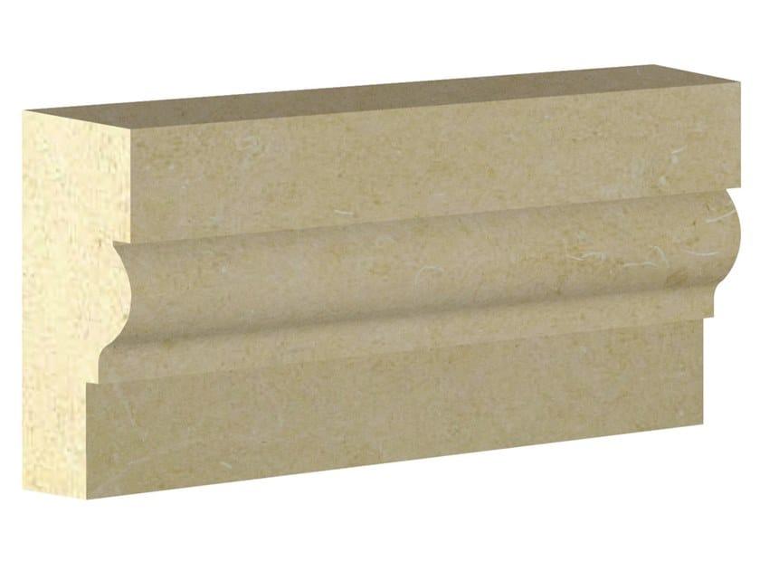 Cornice per facciata in pietra leccese PMF05 | Cornice per facciata by PIMAR