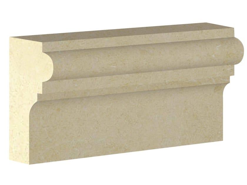 Cornice per facciata in pietra leccese PMF07 | Cornice per facciata by PIMAR