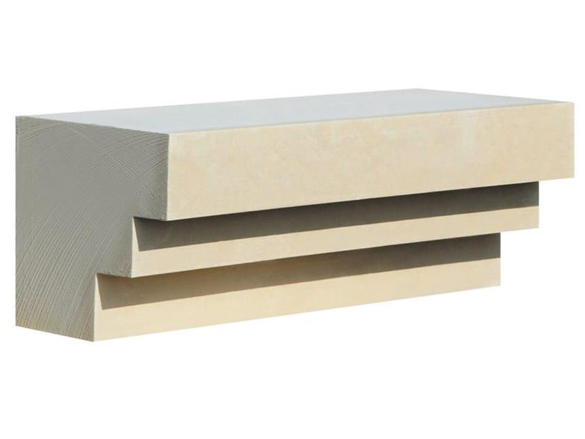 Cornice per facciata in pietra leccese PMF19 | Cornice per facciata by PIMAR