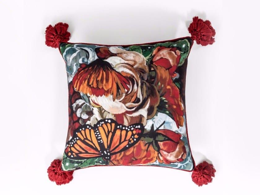 Square fabric cushion PN-307 by MOMENTI