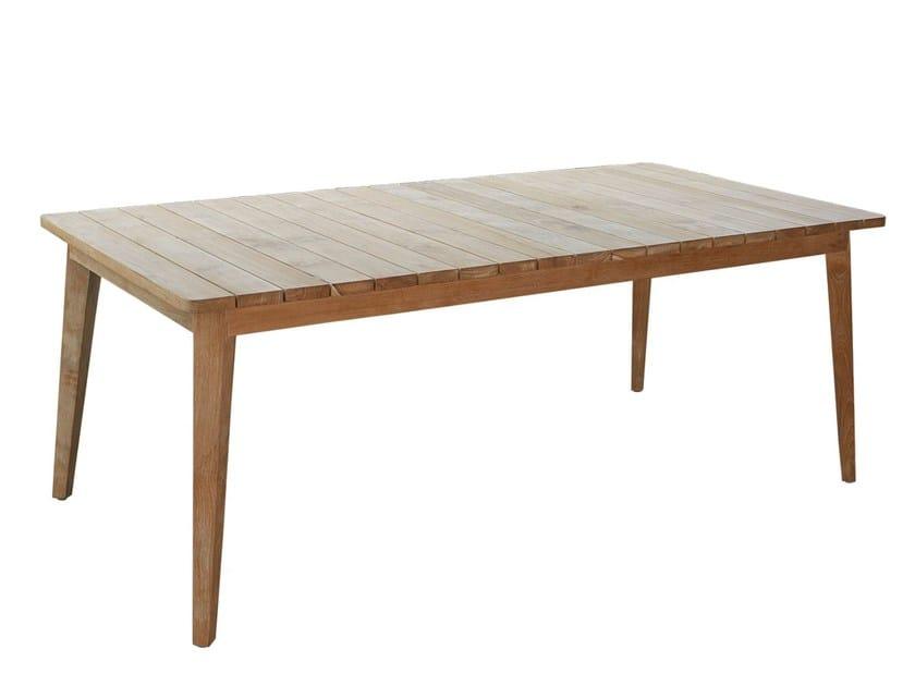 Rectangular table POB 23151 by SKYLINE design