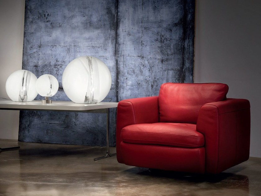 Glass table lamp POC LT by Vetreria Vistosi