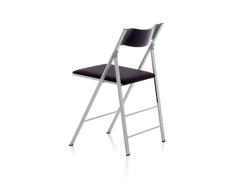 Upholstered folding chair POCKET PLASTIC FABRIC by arrmet