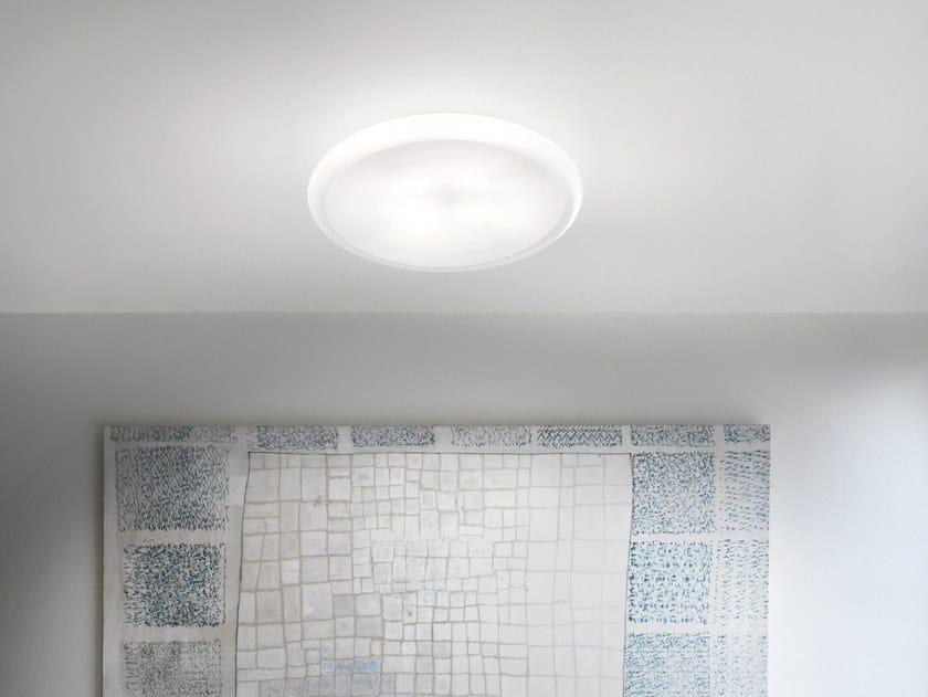 Glass ceiling light POD PL by Vetreria Vistosi