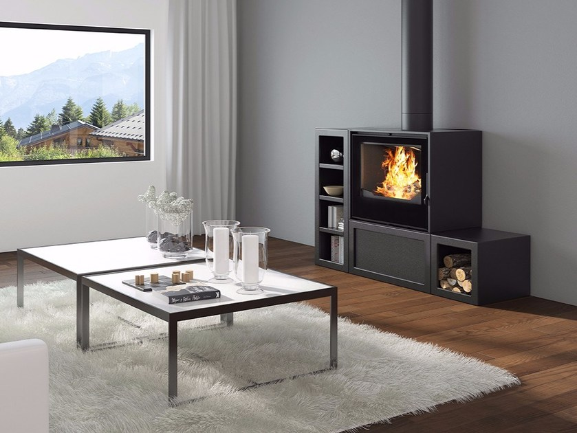 Wood-burning stove POELE 700 IHS by CHEMINEES SEGUIN