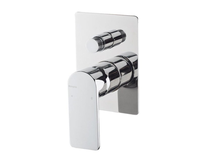 Shower mixer with diverter POIS   Shower mixer with diverter by RITMONIO