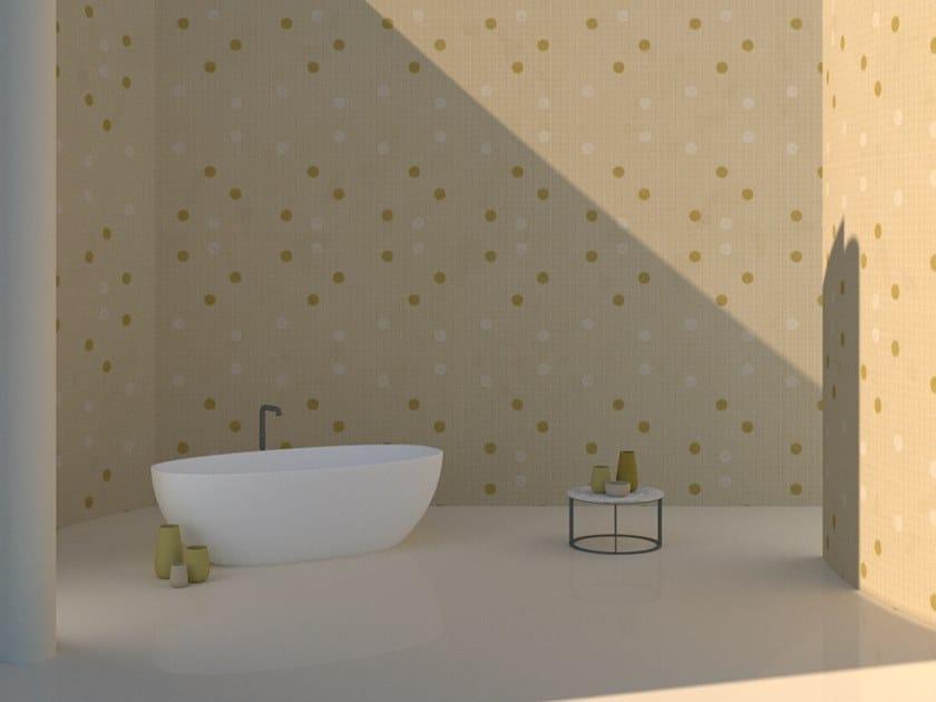 Wall tiles / wallpaper POIS YELLOW by Officinarkitettura®