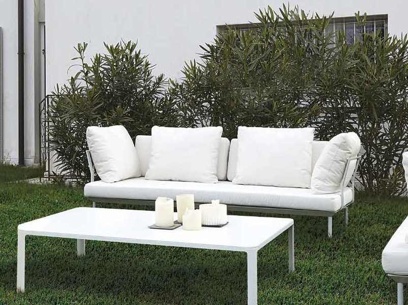 3 seater fabric sofa POISSY FOR OUT | 3 seater sofa by iCarraro