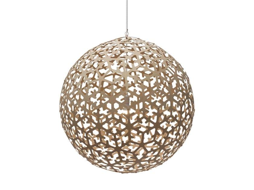 Pendant lamp POLA | Pendant lamp by David Trubridge