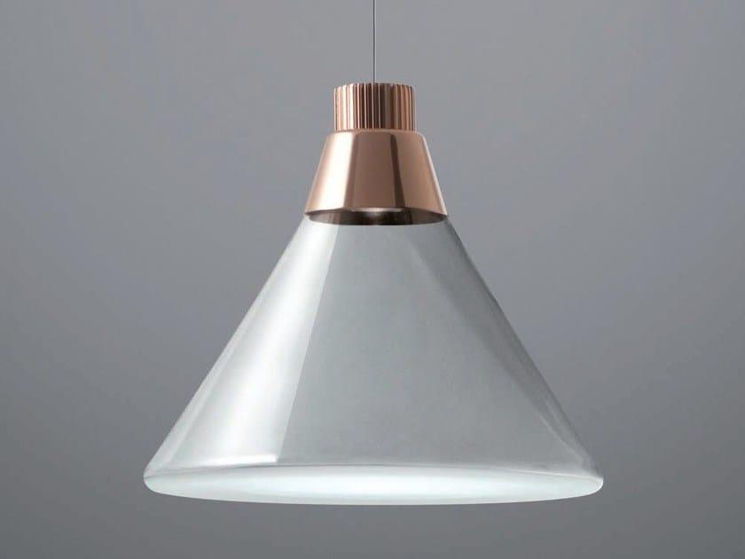 LED Pyrex® pendant lamp POLAIR | LED pendant lamp by Fabbian