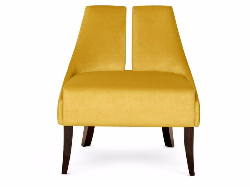 Fabric armchair POLAIRE | Armchair by Munna