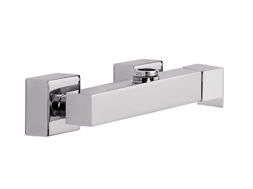 2 hole chrome-plated single handle shower mixer POLAR | 2 hole shower mixer by Rubinetterie Mariani