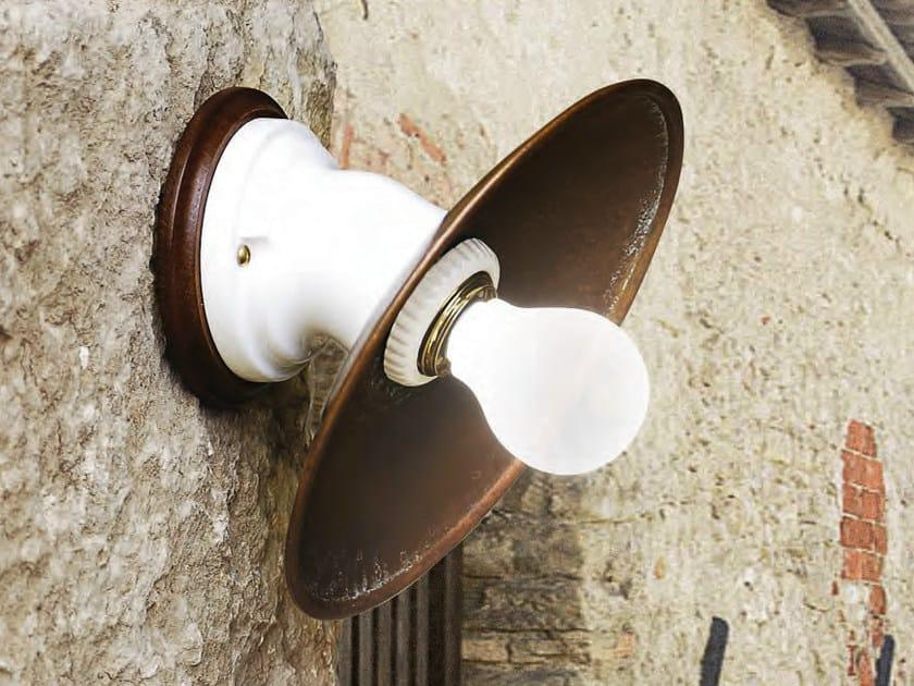 Copper wall light POLARE | Wall light by Aldo Bernardi