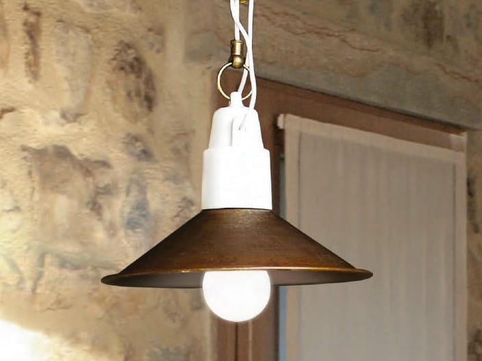 Copper pendant lamp POLARE | Pendant lamp by Aldo Bernardi