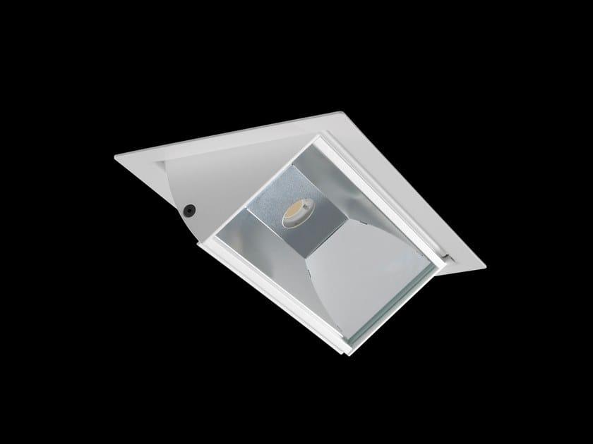 Lampada da soffitto a LED in alluminio verniciato a polvere a incasso POLARIS by LUNOO