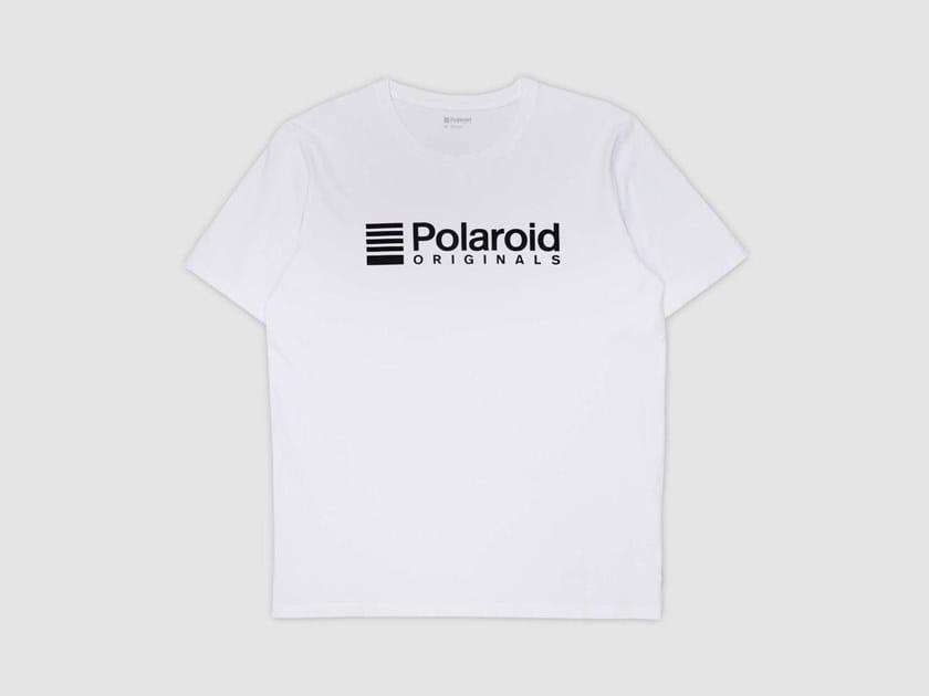 Cotton T-shirt ORIGINALS T-SHIRT - B\W by Polaroid Originals